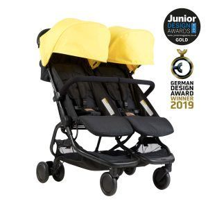 silla-gemelar-nano-duo-amarilla-mountain-buggy-ganadora-premios-diseño-2018-premios-oro-diseño-alemania-2019-cositasdebebes