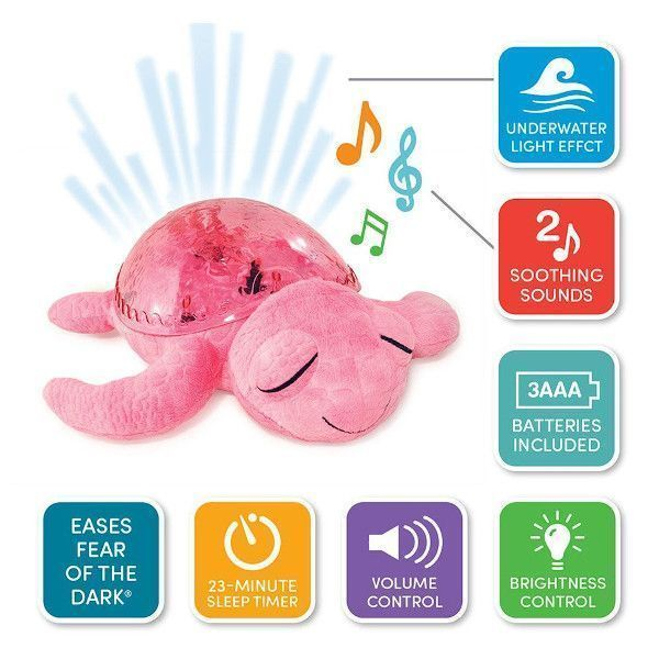 proyector-tortuga-rosa-funciones-cloudb-cositasdebebes