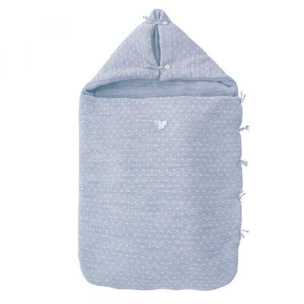 saco-bebe-capazo-punto-m5-azul-uzturre-cositasdebebes