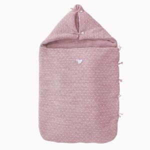 saco-bebe-capazo-punto-m5-rosa-empolvado-uzturre-cositasdebebes