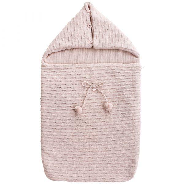 saco-bebe-capazo-punto-m3-rosa-uzturre-cositasdebebes